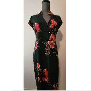 Thyme Maternity Dress Cherry Blossoms size Small